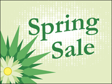 Picture of Spring Sale Yard Sign (SS3YS#002)