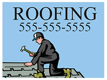 Picture of Roofing Yard Sign (RYS#002)