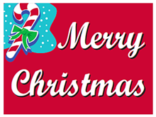 Picture of Merry Christmas Yard Sign (MCYS#002)
