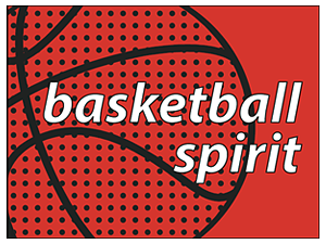 Picture of Basketball Spirit Yard Sign (BAKYS#002)