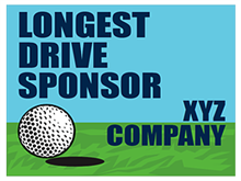 Picture of Longest Drive Sponsor Yard Sign (LDSYS#002)