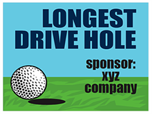 Picture of Longest Drive Hole Sponsor Yard Sign (LDHYS#002)