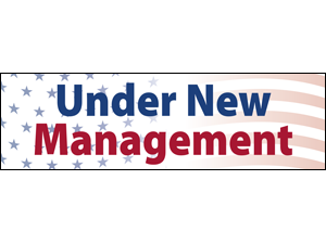 Picture of New Management Banner (UNM2B#001)