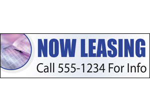 Picture of Now Leasing Banner (NL3B#001)