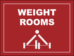 Picture of Weight Rooms Yard Sign (WRYS#002)