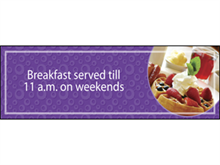 Picture of Breakfast Served Banner (BSTB#001)