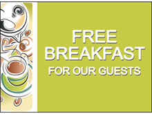 Picture of Free Breakfast Yard Sign (FB2YS#002)