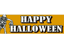 Picture of Happy Halloween Banner (HHB#001)