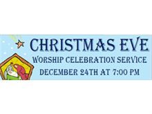 Picture of Christmas Eve Banner (CEB#001)