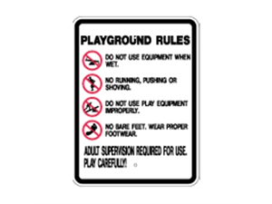 Picture of Playground Rules (S2-10RA9)