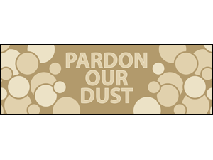 Picture of  Pardon Our Dust Label (PODL#003)