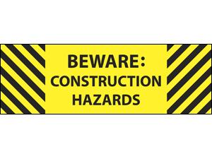 Picture of Beware Construction Label (BC2L#003)