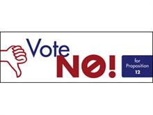 Picture of Vote No Label (VNL#003)