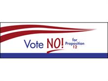 Picture of Vote No Label (VN2L#003)