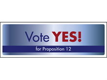 Picture of Vote Yes Label (VYL#003)