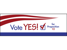 Picture of Vote Yes Label (VY2L#003)