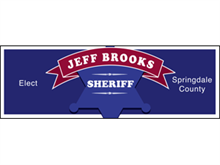 Picture of Elect Sheriff Label (ESL#003)