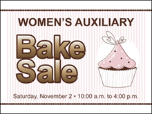 Picture of Bake Sale Yard Sign (BS3YS#002)