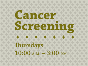 Picture of Cancer Screening Yard Sign (CSHYS#002)