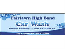 Picture of Car Wash Label (CWL#003)
