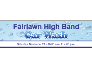 Picture of  Car Wash Label (CW2L#003)