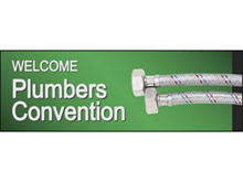 Picture of Plumers Convention Banner (PCB#001)