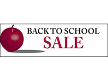 Picture of Back To School Sale Banner (B2SSB#001)