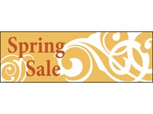 Picture of Spring Sale Banner (SS3B#001)