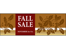 Picture of Fall Sale Banner (FS3B#001)
