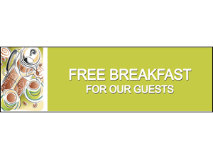 Picture of Free Breakfast Banner (FB2B#001)
