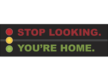 Picture of Stop Looking You're Home Banner (SLB#001)