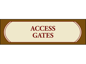 Picture of Access Gates Banner (AGB#001)