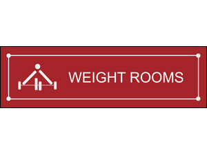 Picture of Weight Rooms Banner (WRB#001)