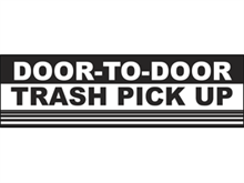 Picture of Trash Pick Up Banner (TPUB#001)