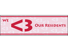 Picture of We Love Our Residents Banner (WLORB#001)