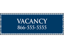 Picture of Vacancy Banner (VB#001)