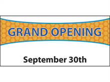 Picture of Grand Opening Banner (GO4DB#001)