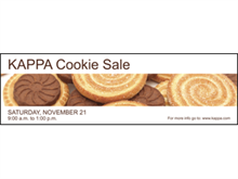 Picture of Cookie Sale Banner (CS3B#001)