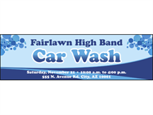 Picture of Car Wash Banner (CWB#001)