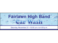Picture of Car Wash Banner (CW2B#001)