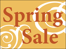 Picture of Spring Sale Yard Sign (SS2YS#002)