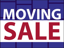 Picture of Moving Sale Yard Sign (MS2YS#002)