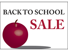 Picture of Back To School  Yard Sign (BTSSYS#002)