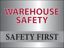Picture of Warehouse Safety Yard Sign (WSYS#002)