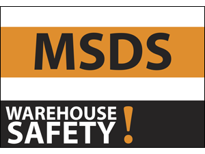 Picture of Warehouse Safety Yard Sign (WS2YS#002)