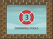 Picture of Swimming Pools Yard Sign (SPYS#002)