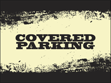 Picture of Covered Parking Yard Sign (CPYS#002)
