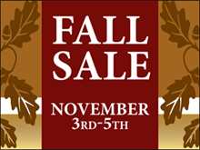 Picture of Fall Sale Yard Sign (FS3YS#002)