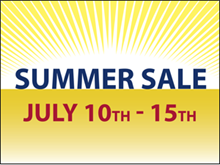 Picture of Summer Sale Yard Sign (SS5YS#002)