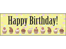 Picture of Happy Birthday Banner (HBB#001)